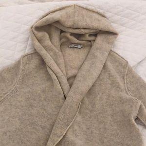 Vince coatigan with hood